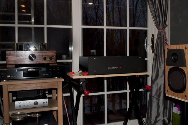 Setup with both DACs